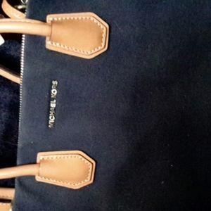 Michael Kors canvas bag Navy